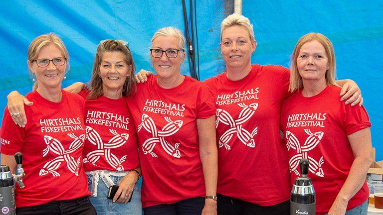 festivalens frivillige