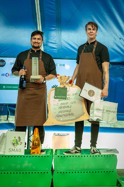 vindere af local cooking 2018 - Nam i Aalborg
